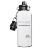 Humanity Water Bottle - white