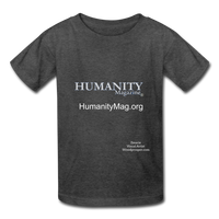 Humanity Magazine Kids' T-Shirt - heather black