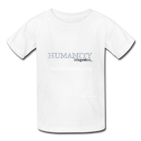 Humanity Magazine Kids' T-Shirt - white