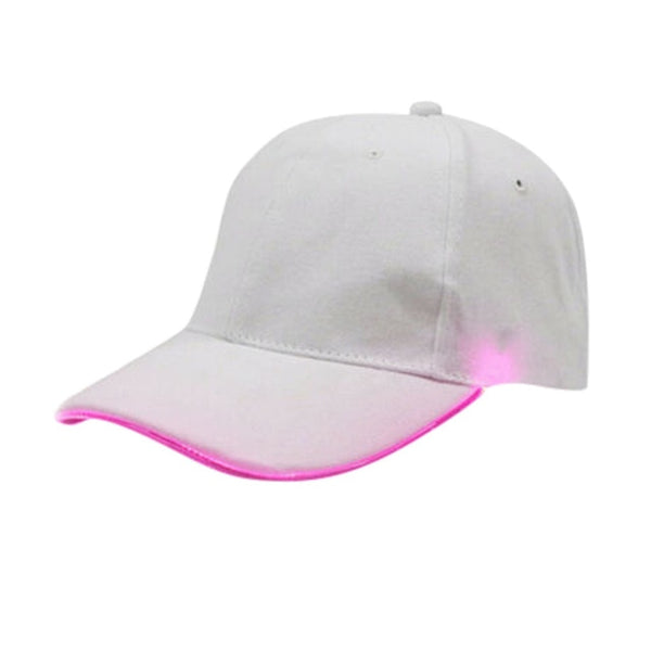 LED Lighted Up Party Baseball Adjustable Sports Cap