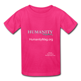 Humanity Magazine Kids' T-Shirt - fuchsia