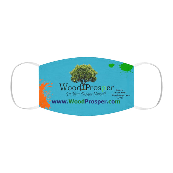 Woodprosper Snug-Fit Polyester Face Mask