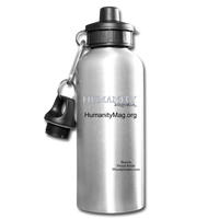 Humanity Water Bottle - silver