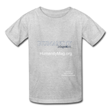 Humanity Magazine Kids' T-Shirt - heather gray