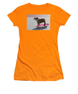 Dog - Women's T-Shirt (Athletic Fit)