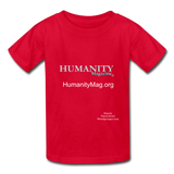 Humanity Magazine Kids' T-Shirt - red