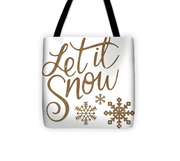 Let It Snow Collection - Tote Bag