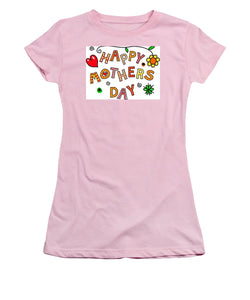 Mothers Day Tee - Women's T-Shirt (Athletic Fit)