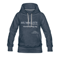 Humanity Women's Premium Hoodie - heather denim
