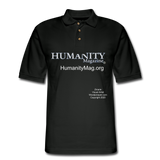 Humanity Project Men's Pique Polo Shirt - black