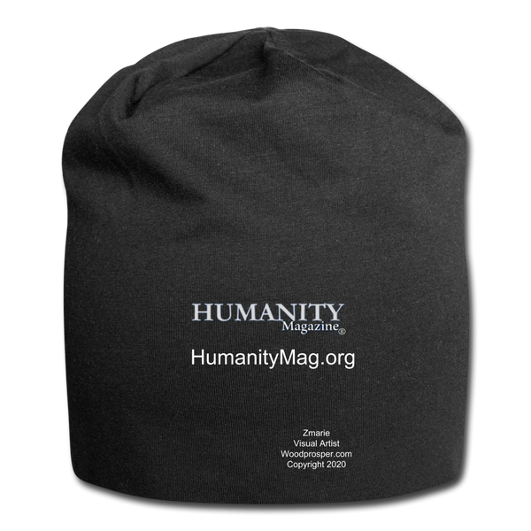 Unisex Humanity Project Jersey Beanie - black