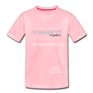 Unisex Humanity Project Kids' Premium T-Shirt - pink