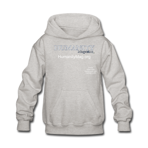 Humanity Project Kids' Hoodie - heather gray