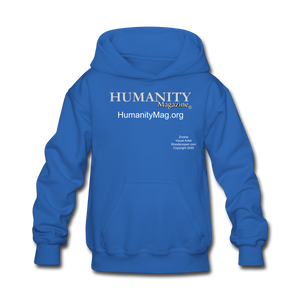 Humanity Project Kids' Hoodie - royal blue