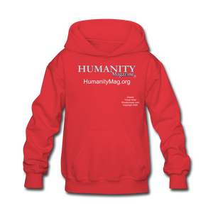Humanity Project Kids' Hoodie - red