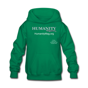 Humanity Project Kids' Hoodie - kelly green