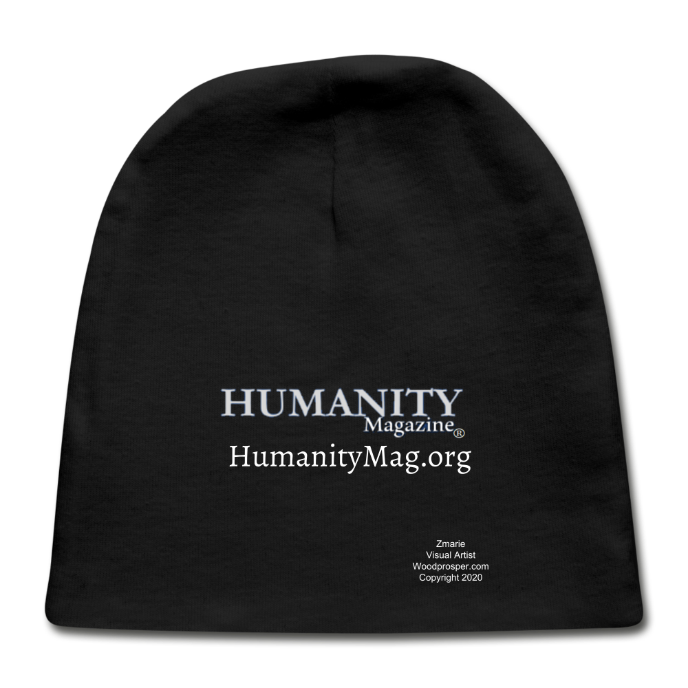 Humanity Project Baby Cap - black