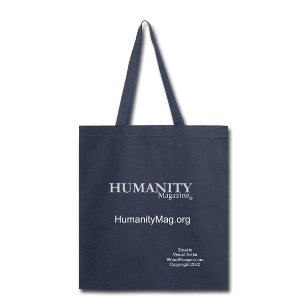 Humanity Tote Bag - navy