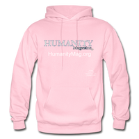 Humanity Project Gildan Heavy Blend Adult Hoodie - light pink