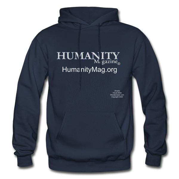Humanity Project Gildan Heavy Blend Adult Hoodie - navy