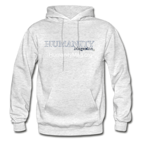 Humanity Project Gildan Heavy Blend Adult Hoodie - light heather gray