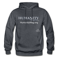 Humanity Project Gildan Heavy Blend Adult Hoodie - charcoal gray