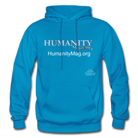 Humanity Project Gildan Heavy Blend Adult Hoodie - turquoise
