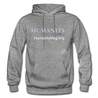 Humanity Project Gildan Heavy Blend Adult Hoodie - graphite heather