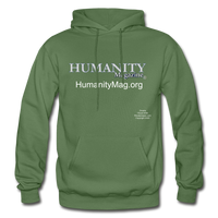 Humanity Project Gildan Heavy Blend Adult Hoodie - military green