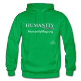 Humanity Project Gildan Heavy Blend Adult Hoodie - kelly green