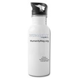 Humanity Project Water Bottle - white