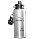 Humanity Project Water Bottle - silver