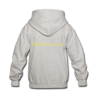 ABAM Center Kids' Hoodie - heather gray