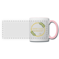 ABAM Center Panoramic Mug - white/pink