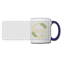 ABAM Center Panoramic Mug - white/cobalt blue