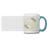 ABAM Center Panoramic Mug - white/light blue