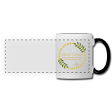 ABAM Center Panoramic Mug - white/black