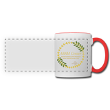ABAM Center Panoramic Mug - white/red