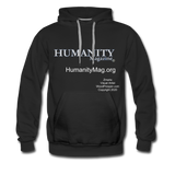 Humanity Magazine Men's Premium Hoodie - black