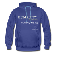 Humanity Magazine Men's Premium Hoodie - royalblue