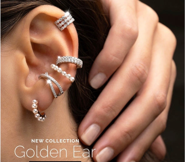 REB Double Ear Cuff: 2 Options