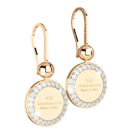 REB Boulevard Drop Earring: Yellow Gold + 2 Size Options
