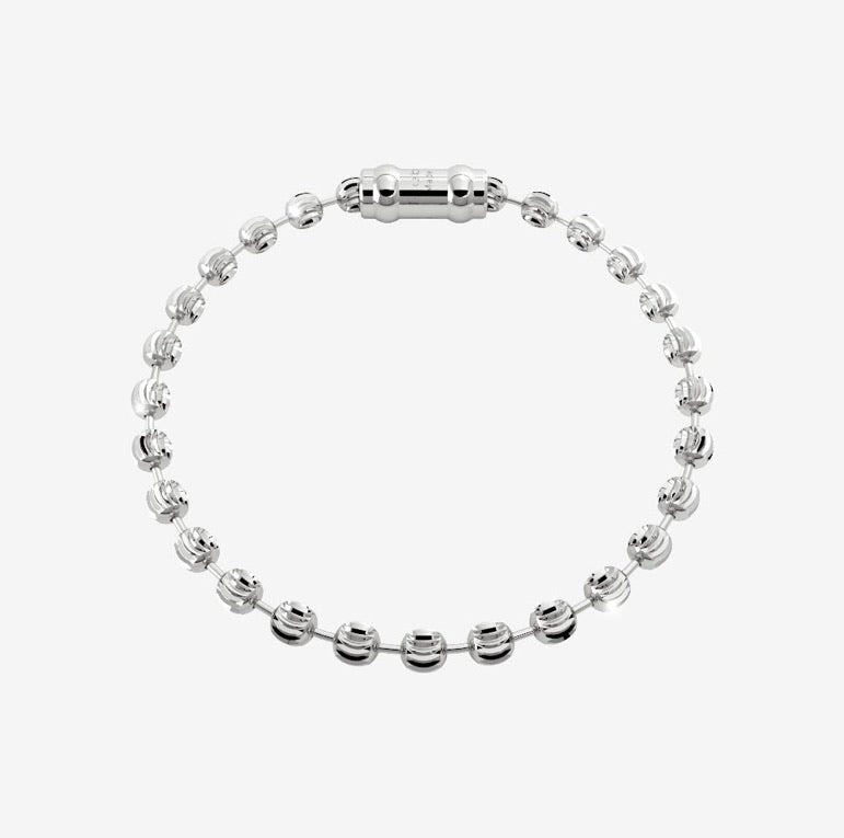 REB My World Charm Bracelet- Diamond Cut