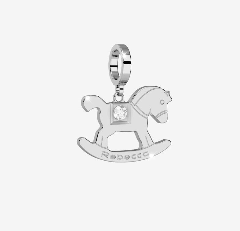 REB Rocking Horse Charm- 2 Colour Options