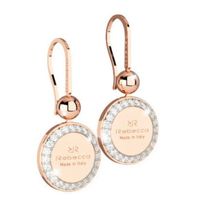 REB Boulevard Drop Earring: Rose Gold + 2 Size Options