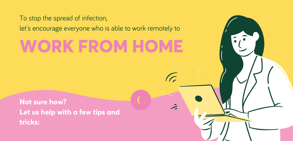 5 Tips to Adjust Working from Home