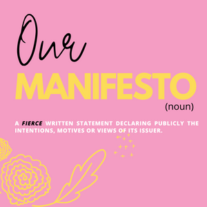 We are COVEDOZA and this is our MANIFESTO