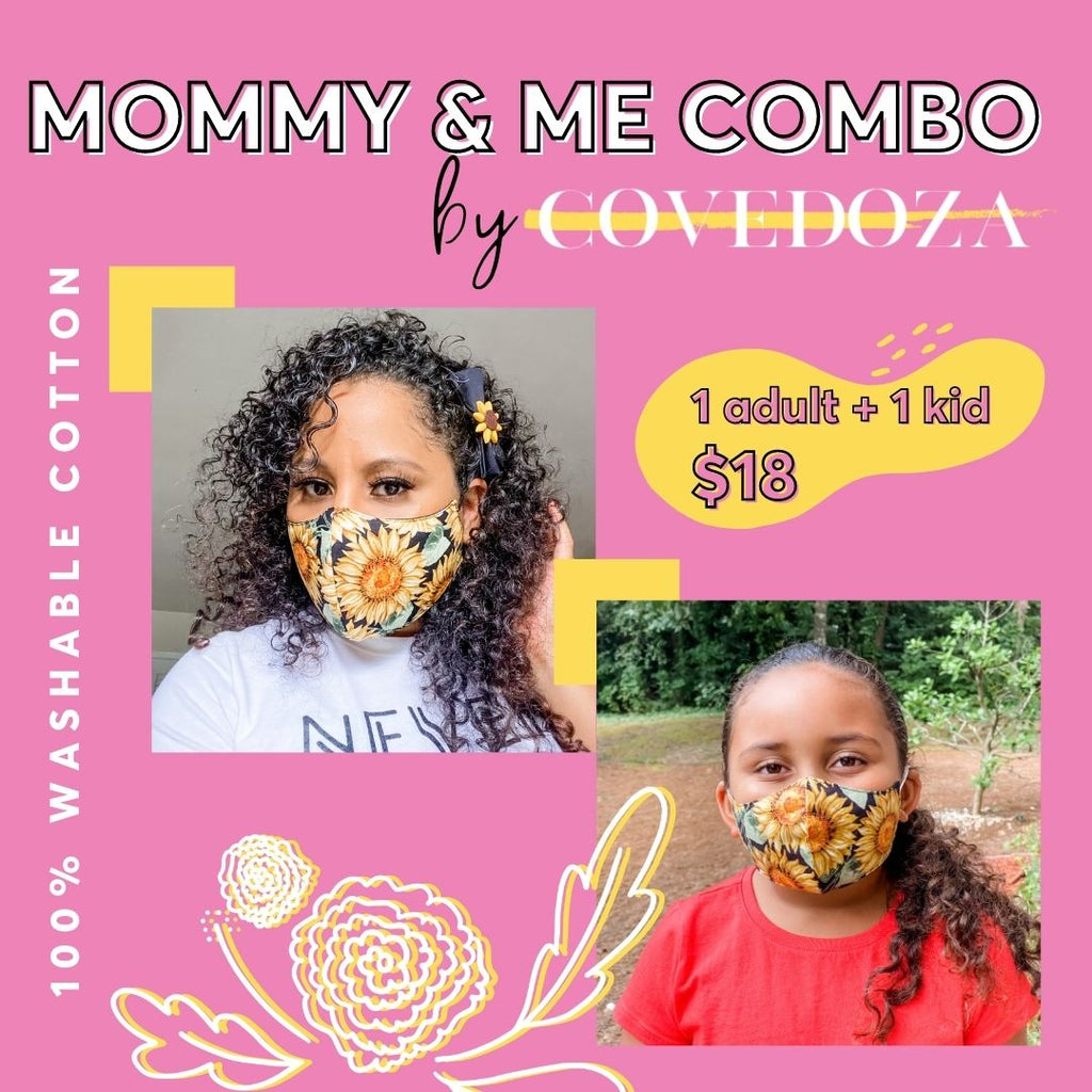 Mommy and Me Face Mask Bundle