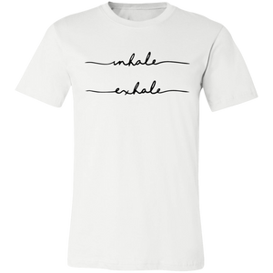 Inhale, Exhale Unisex Jersey Short-Sleeve T-Shirt