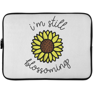 I'm Still Blossoming Laptop Sleeve - 15 Inch